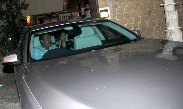 Sonam Kapoor in her BMW 7-Series Luxury Saloon
