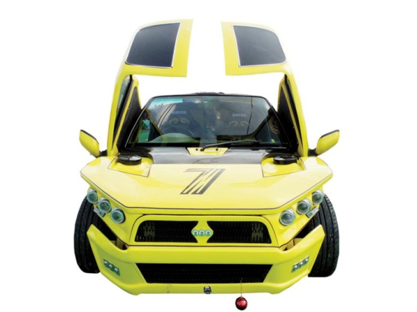 Gurmeet Ram Rahim Singh Insan's Modified Car 2