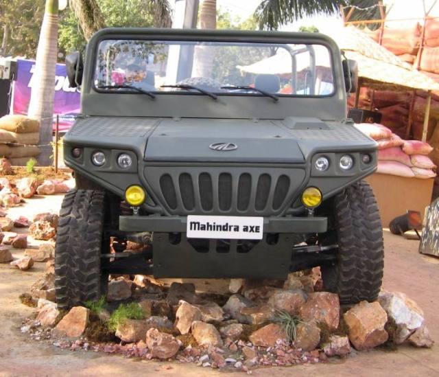 Mahindra Axe 2