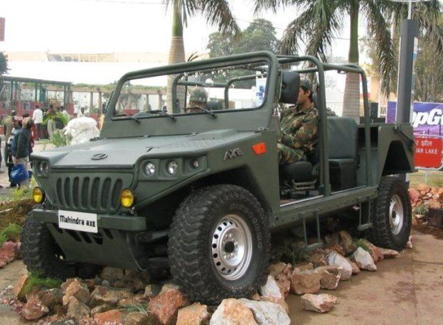 Mahindra Axe 3