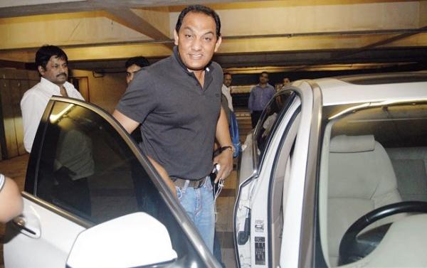 Mohammad Azharuddin with his BMW 650i Coupe
