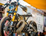 Motoexotica's Yamaha RD350 Retro Cafe Racer 7