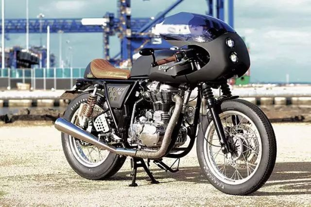 Rewind MC's Royal Enfield Dirty Girl Cafe Racer 2