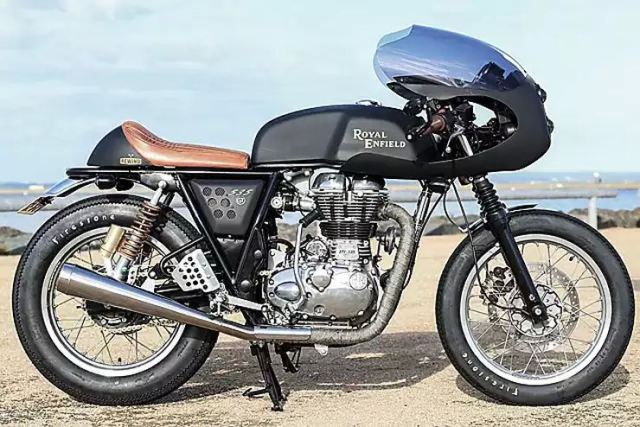 Rewind MC's Royal Enfield Dirty Girl Cafe Racer 6