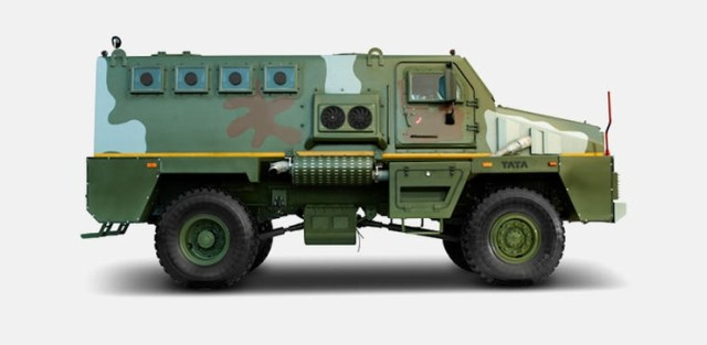 Tata Armored Personnel Carrier 4X4 2