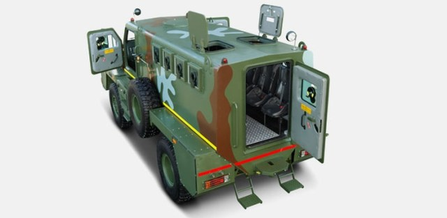 Tata Armored Personnel Carrier 4X4 3