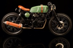 Bombay Custom Works' O-Four Cafe Racer 3