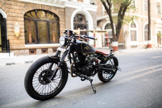 Bombay Custom Works' P150 Bobber 1