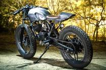 Bull City Customs' Yamaha RX135 cafe racer 1