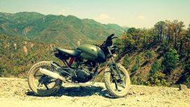 Down Town Customs' Bajaj Pulsar 150 based Scrambler 3
