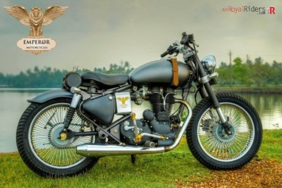 Emperor Motorcycles' Royal Enfield Electra 4S based Retro-naut Custom 3