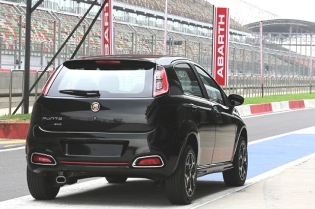India Spec Fiat Punto Abarth 3