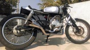 Joat Moto Custom's Bajaj Pulsar 150 Cafe Racer custom 3