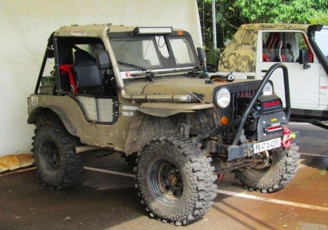 Kabir Waraich's Mahindra CJ3B 1