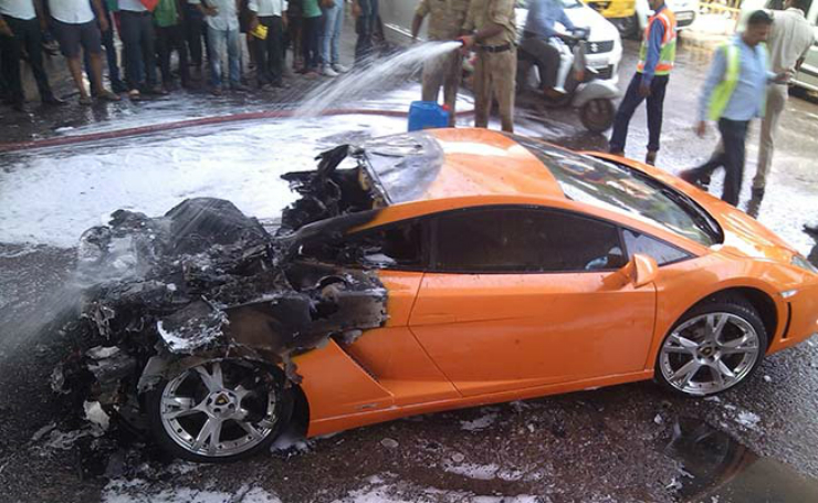 Lamborghini Gallardo Delhi