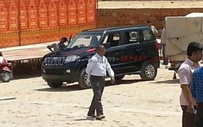 Mahindra TUV300 Compact SUV Spyshot 3
