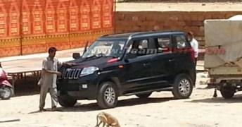 Mahindra TUV300 Compact SUV Spyshot 4