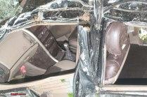 Mahindra XUV500 Airbags Crash 2