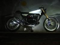 MotoExotica's Yamaha RD350 StreetTracker 2