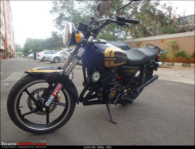 Modified RD350 India