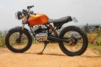 RTM Design's Yamaha RX100 Dirt Tracker 1