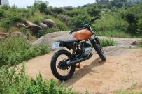 RTM Design's Yamaha RX100 Dirt Tracker 2