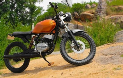 RTM Design's Yamaha RX100 Dirt Tracker 3