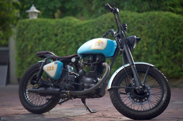 Rajputana Customs' Royal Enfield Retro 350 1