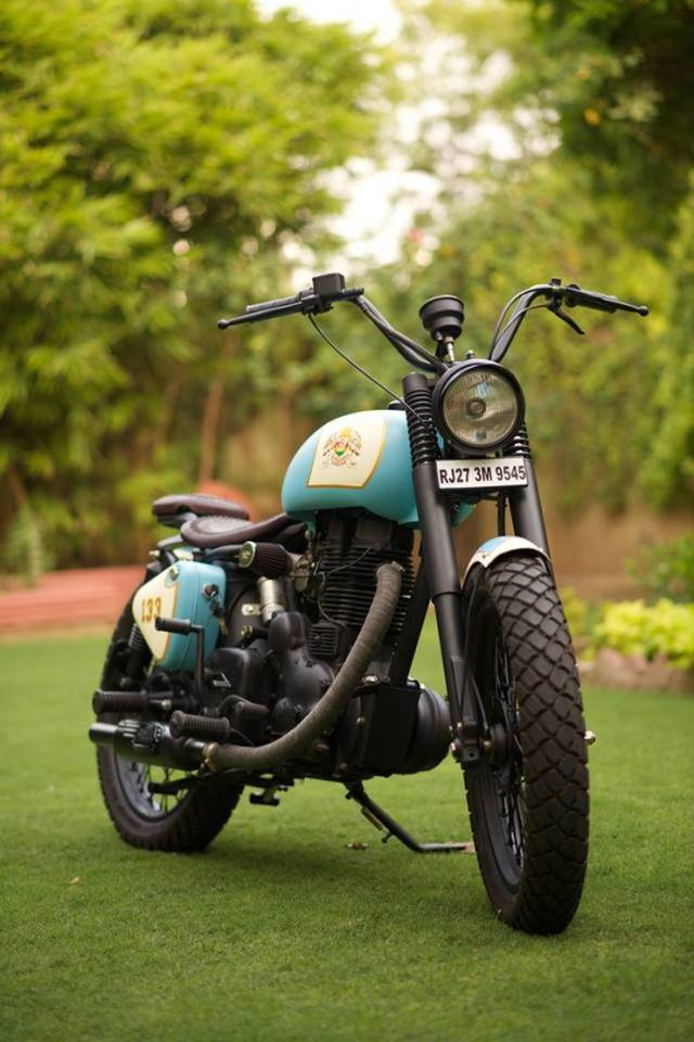 Rajputana Customs' Royal Enfield Retro 350 2