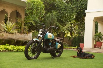 Rajputana Customs' Royal Enfield Retro 350 5
