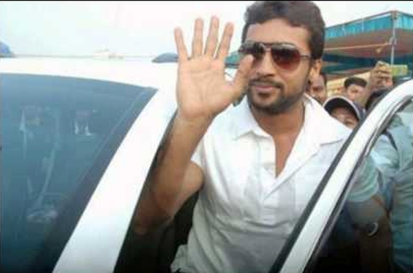 Surya with his Audi Q7