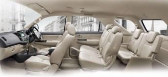 Toyota Fortuner Interiors 2