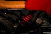 Bombay Custom Works' Yamaha RX135 based cafe racer custom 6