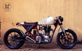 Bull City Customs' Thunderbird Cafe Racer 2