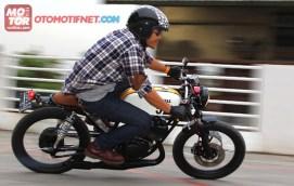 Fujikura Akihiko Yamaha RX135 Cafe Racer 3