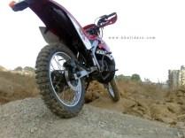 Khalidaro Design's Yamaha RX135 based dirt bike 2
