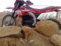 Khalidaro Design's Yamaha RX135 based dirt bike 4