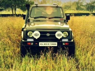 RJ Design's Maruti Suzuki Gypsy King 4