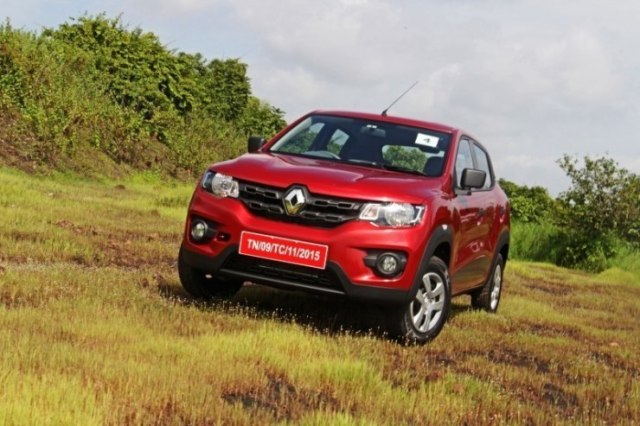 Renault Kwid in Red 1