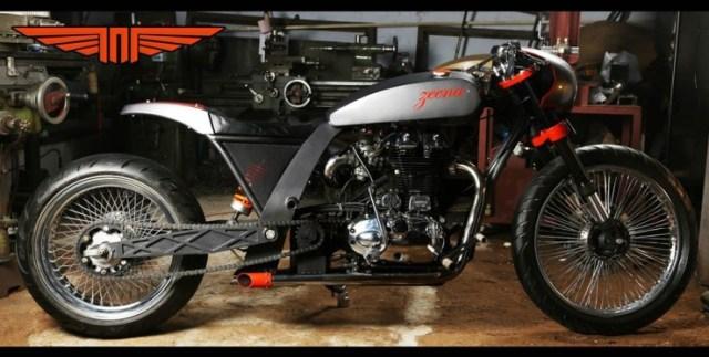 TNT Motorcycles' Zeena Royal Enfield Custom 4