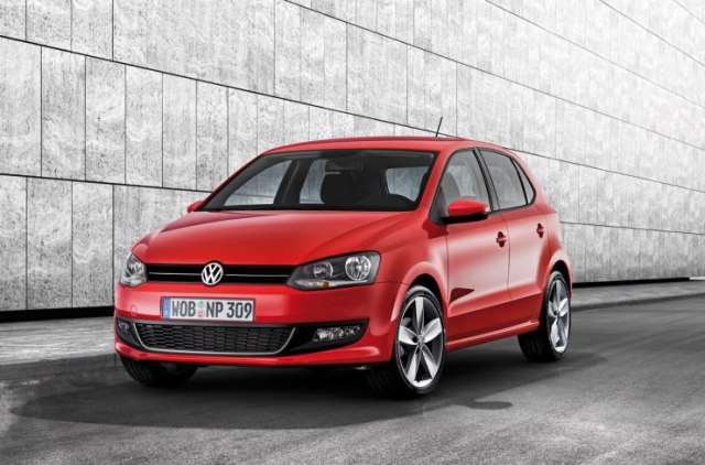 Volkswagen Polo in Red 1