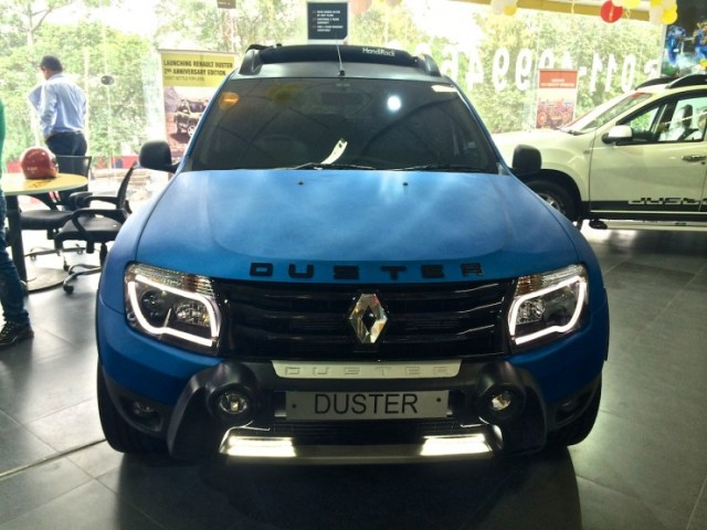 Renault Duster modified front