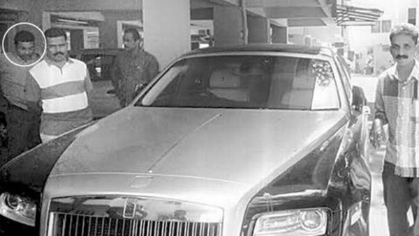Mohammed Nisham with his Rolls Royce
