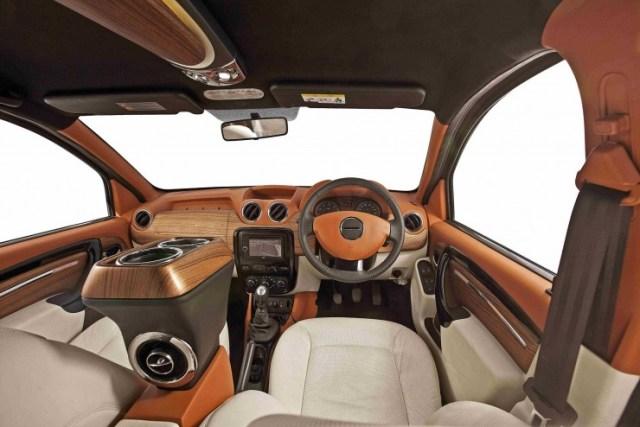 Renault Duster DC Design custom interior