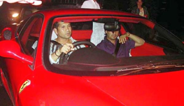 Sachin Tendulkar's Ferrari 360