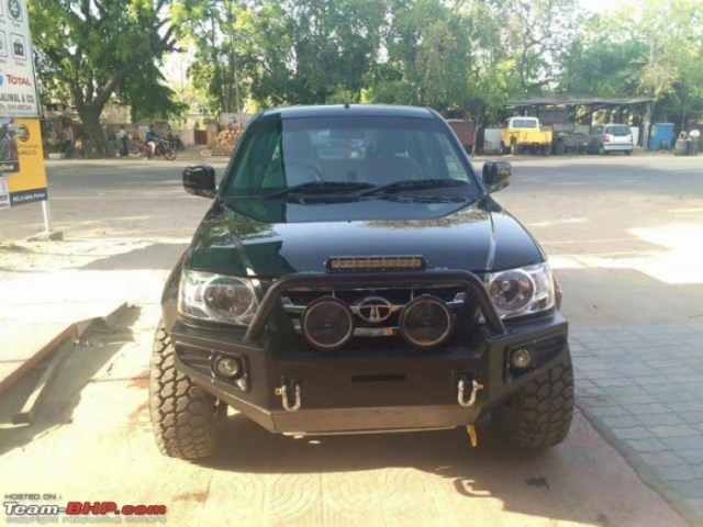 Tata Xenon custom front
