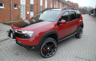 Renault Duster Decal 1