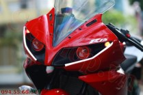 Modified Yamaha R15 custom headlamps