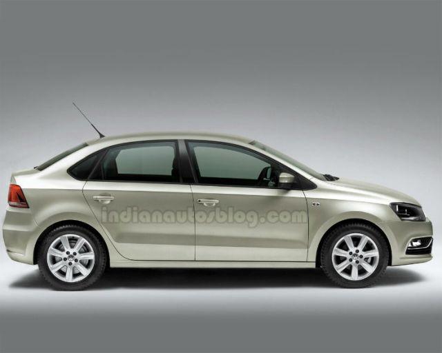 VW Polo Compact Sedan