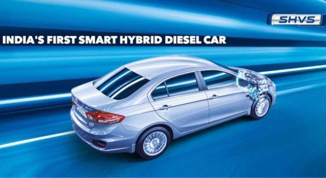 Maruti Ciaz Diesel Hybrid